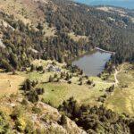 Le Lac du Forlet ou Lac des Truites
